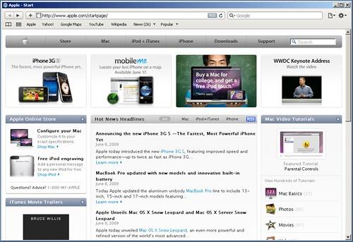 Safari 4 - Classic