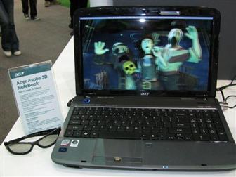 acer aspire 3d screen