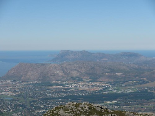 Cape peninsula from table mtn