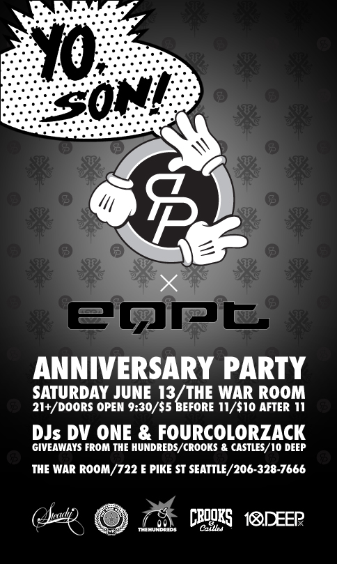 Yo Son! RPS x EQPT Anniversary Party