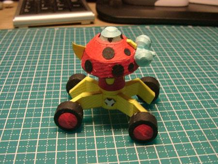 Ladybug-Drone  Papercraft