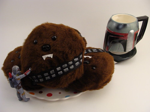 Milk and Wookie Cookies....nom nom nom