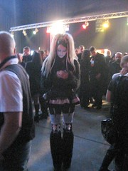 Wave Gotik Treffen 2009 (steeev) Tags: girl festival germany handy phone agra leipzig mobilephone gothgirl 2009 sms textmessage cyber musicfestival cybergoth textmessaging texting wgt wavegotiktreffen wgt2009