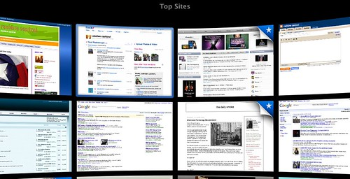 safari 4 top sites mode