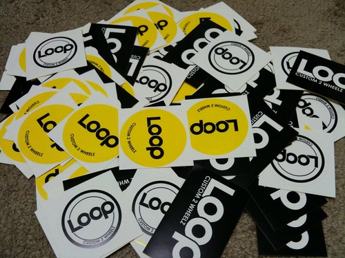 loop magazine sticker