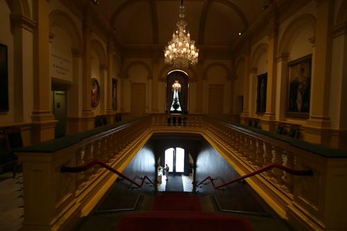 The stylish Smithsonian Renwick Gallery...