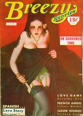 Breezy Stories, 1935/1944 (bollesbiggestfan1) Tags: illustration retro pulp pinup enochbolles breezystories