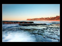 Bungan after sunrise (sachman75) Tags: morning sunrise rocks waves sydney australia nsw 1022mm northernbeaches 40d bunganbeach northbungan