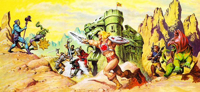 Masters Of The Universe - 20 (painting by Earl Norem)