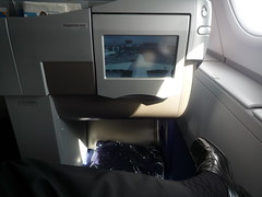 Seatback with Tail Camera
