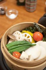 季節野菜のせいろう蒸し, 地滋 玄海, 新宿タカシマヤ