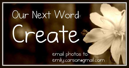 Next Week's Word, Create