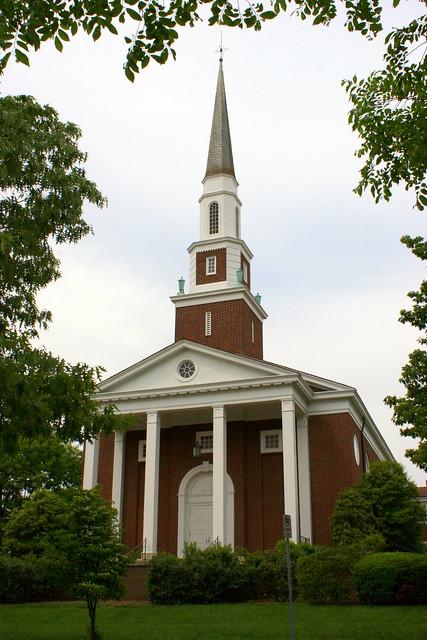 Kingsport's Church Circle: First Presbyterian Church