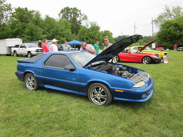 1993 dodge mopar daytona carshow customcar boonsboromd masondixondragway midatlanticmoparmeet