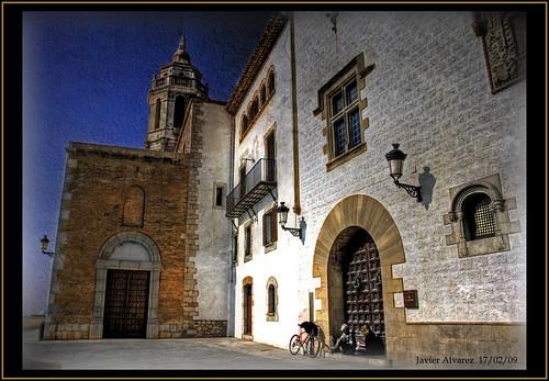 Sitges (1) Iglesia Parroquial de Sant Bartomeu y Santa Tecla