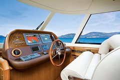 Dolphin 64' - Pilot house (mochicraft-yacht) Tags: sea italy sun boat fly italian barca mare sailing yacht dolphin top craft 64 lobster mochi luxury navigation suntop megayacht lusso navigazione flybridge mochicraft