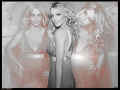92.Britney Spears  [RXLJUNKIEBOY] (Brayan E. Old Flickr) Tags: orange spears britney blend