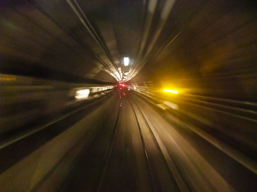 Warp speed. Next stop, the 21st Century! (Courtesy dandeluca, flickr)