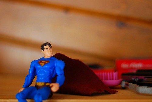 Superman Waits and Watches