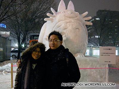 Totoro, Rachel and I
