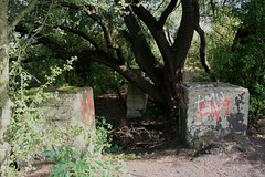 sept 021 (Landyman Photography) Tags: pillbox cheshunt leavalleypark batroost searchlightcontrolpost