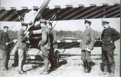 First World War Pilots. World War One Fokker D.VII And