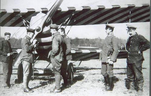 First World War Pilots. World War One Fokker D.VII And