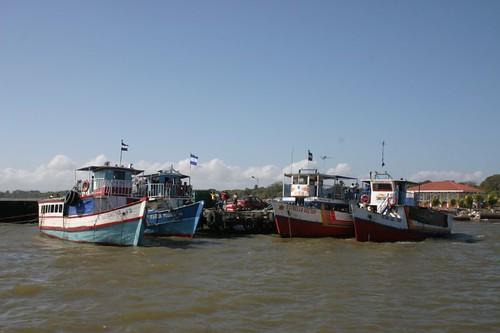 Boats, San Jorge - Lake Nicaragua.