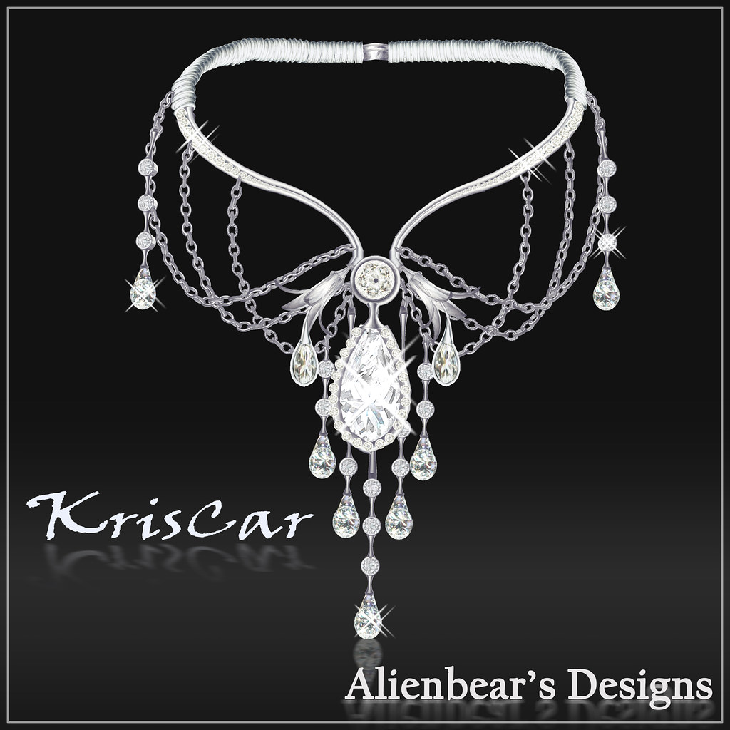 KrisCar necklace white