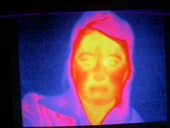 Sarah in infrared