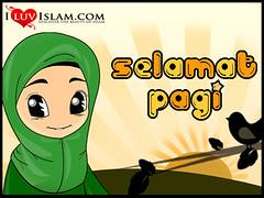 Vector Kartun Muslim