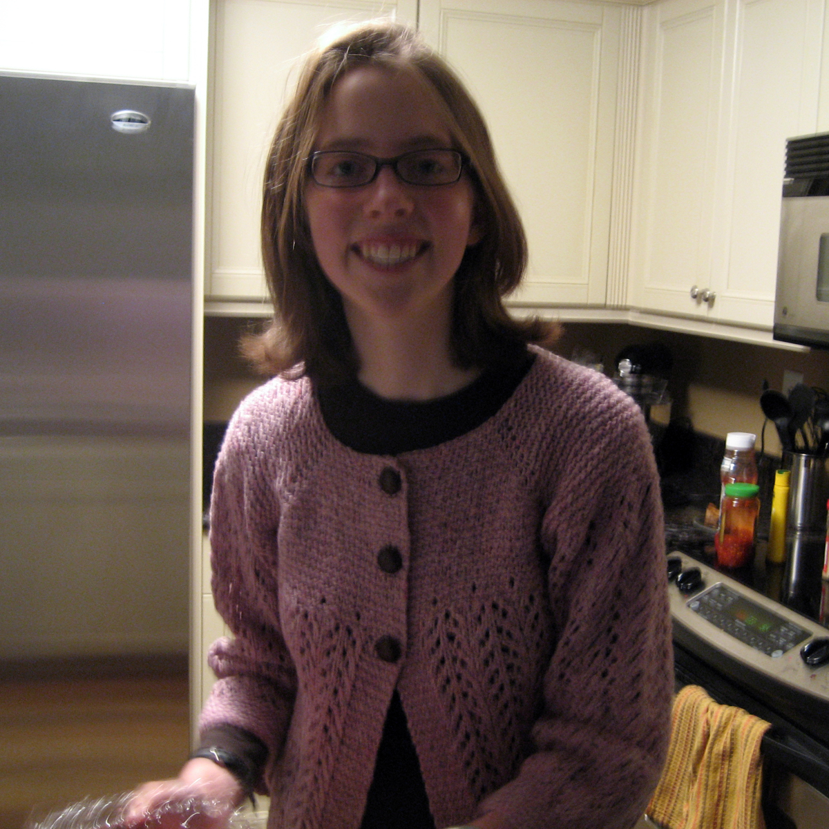 84/365 - sara's february lady sweater
