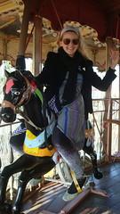 Alba rides