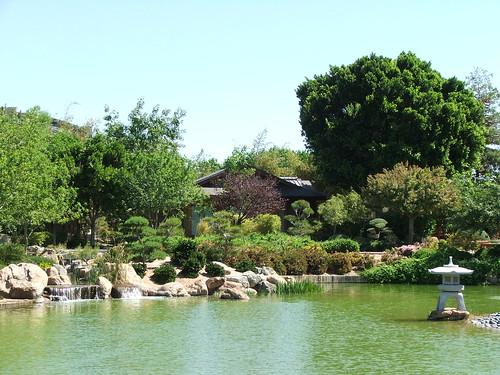 Teahouse in the Japanese Friendship Garden in Phoenix, Arizona