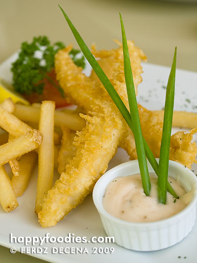 Bondi Fish and Chips (Php 235)