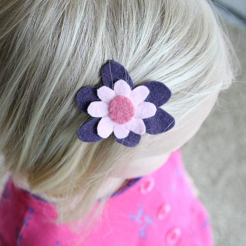 flower clip for n.