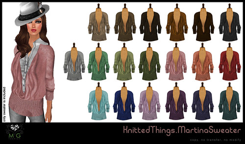 [MG fashion] KnittedThings.MartinaSweaters