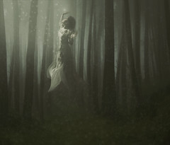 (Rocio Montoya) Tags: trip light woman beauty forest fly princess gothic fairy human fantasy romantic emotional bizarre tale montoya rocio dreamcatcher ophelia preraphaelite extasis