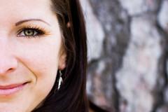 - V - (*juice) Tags: portrait tree eye smile face nose earring explore half canonef50mmf14usm babinkuk canoneos40d