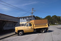 (rogneda) Tags: car yellow truck halfmoonbay