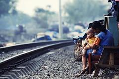 (Luqman Marzuki) Tags: street urban train canon eos tracks jakarta 70200mm senen 50d mantosz