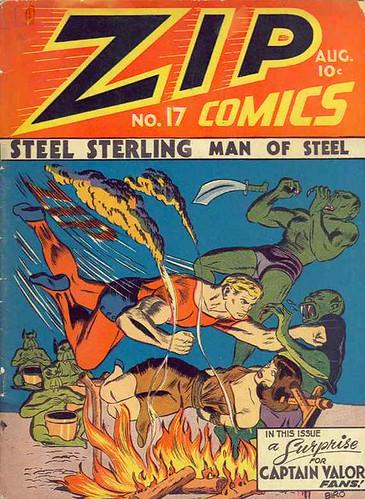 zip comics 17 1941