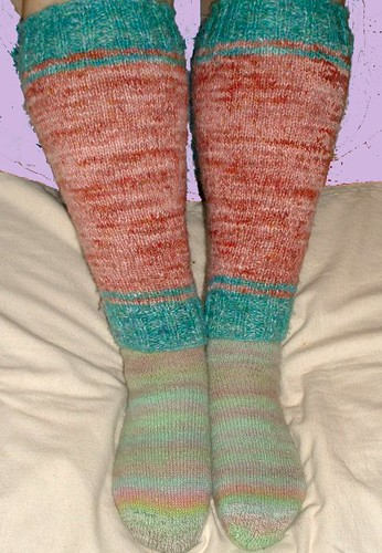 legwarmers and socks 1
