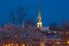 Baker Park sunset 058 (gotbob) Tags: park sunset tower baker bell maryland frederick slidr carollion