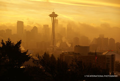 City in the Mists (TIA International Photography) Tags: seattle fog sunrise tia queenanne foggy spaceneedle kerrypark bej sonyalpha theunforgettablepicture tosinarasi tiascapes tiainternationalphotography