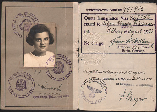 Helga Rome's Passport