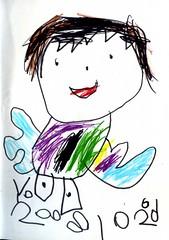 20081226-yoyo畫小天使