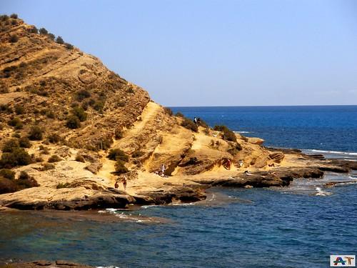 Cala Cantalar en el Cabo de las Huertas (I)