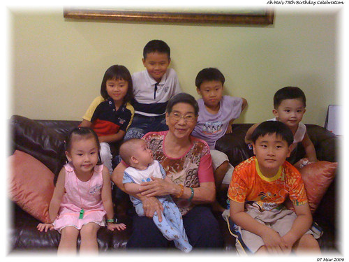The 4th generation - my nephews & nieces (with 1 missing in action)