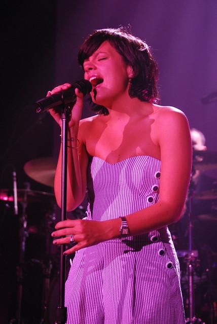 Lily Allen @ 9:30 Club: 4/17/2009 by JordanCoughenour